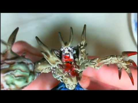 How to Paint an A Bomb Abomination for Zombicide Season 3, Vid 298