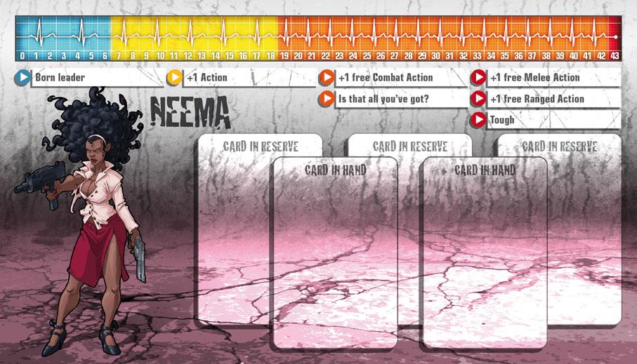 Neema als Überlebende
