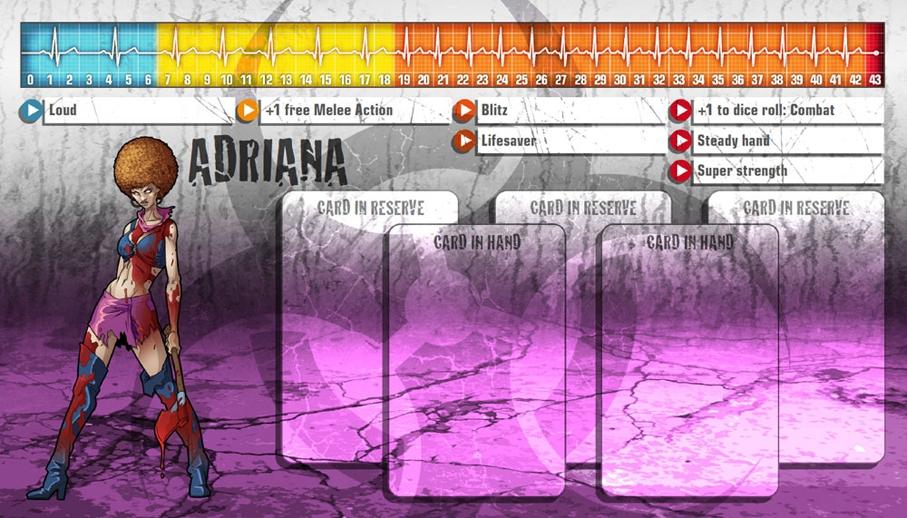 Adriana als Überzombie