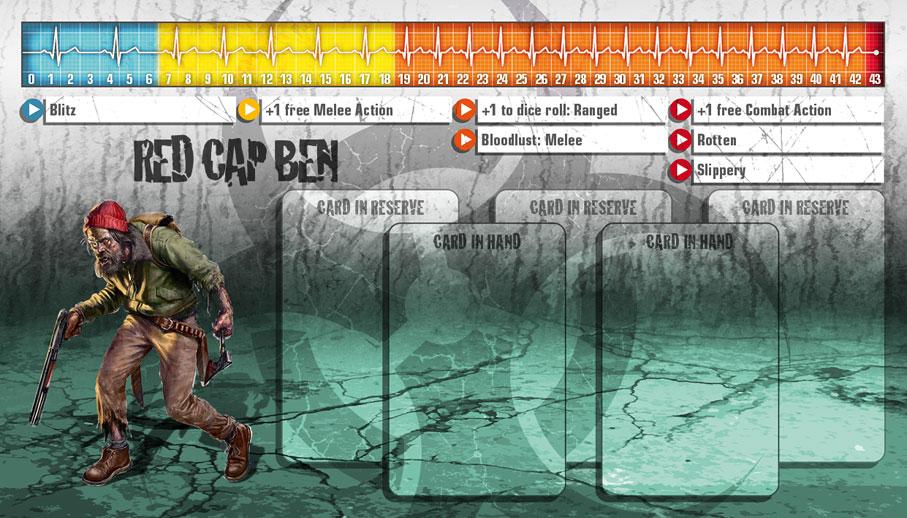 Red Cap Ben als Überzombie