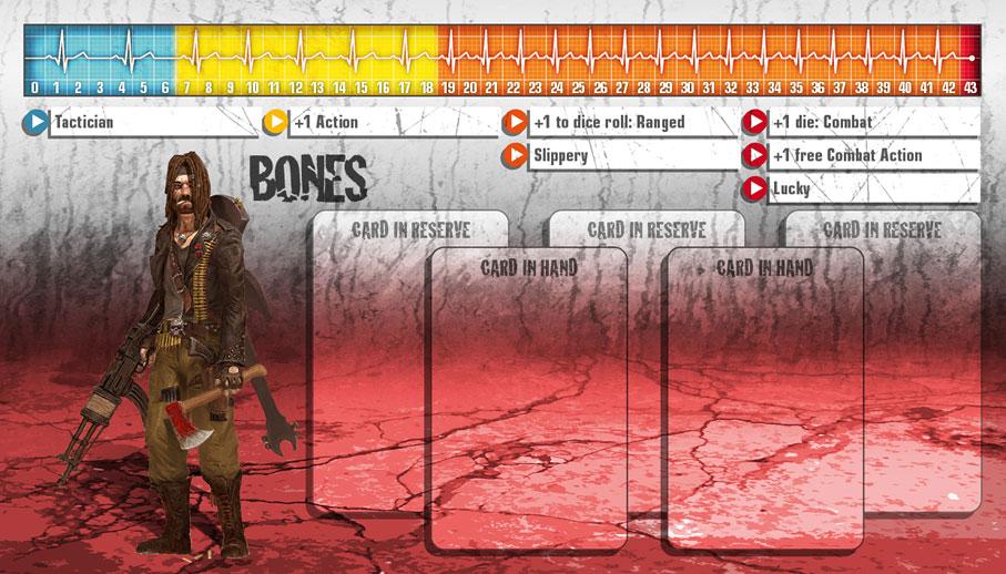 Bones als Überlebender