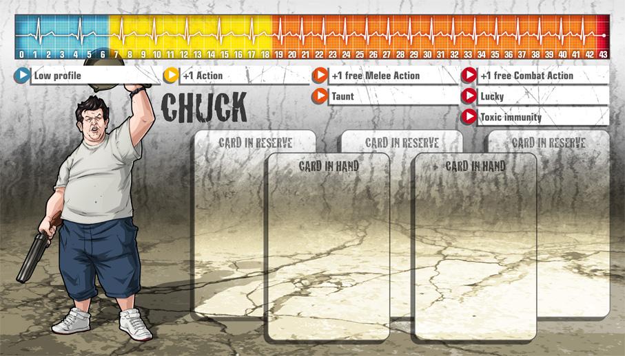 Chuck als Überlebender