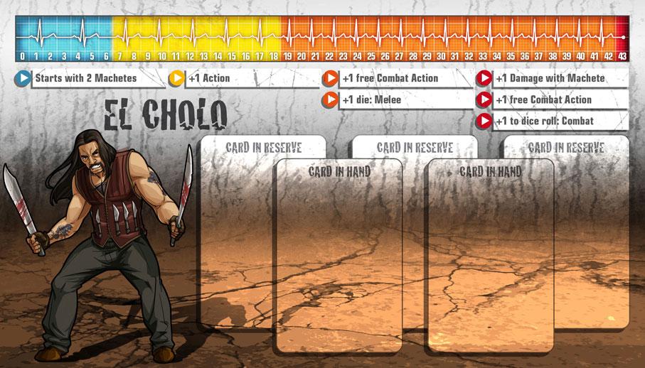 El Cholo als Überlebender