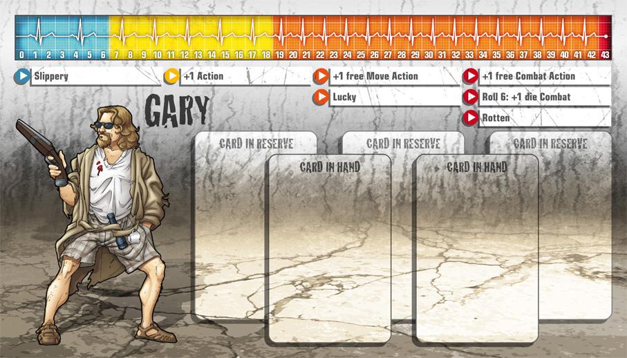 Gary als Überlebender