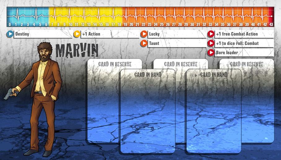 Marvin als Überlebender