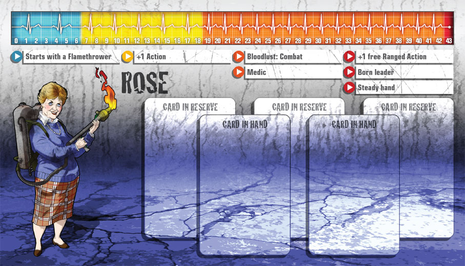 Rose als Überlebende