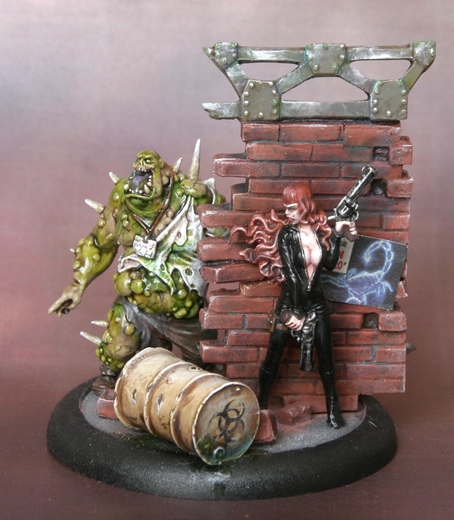 Bemalte Zombies (Bilder)