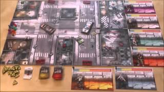 Eine Spielrunde Zombicide im Video