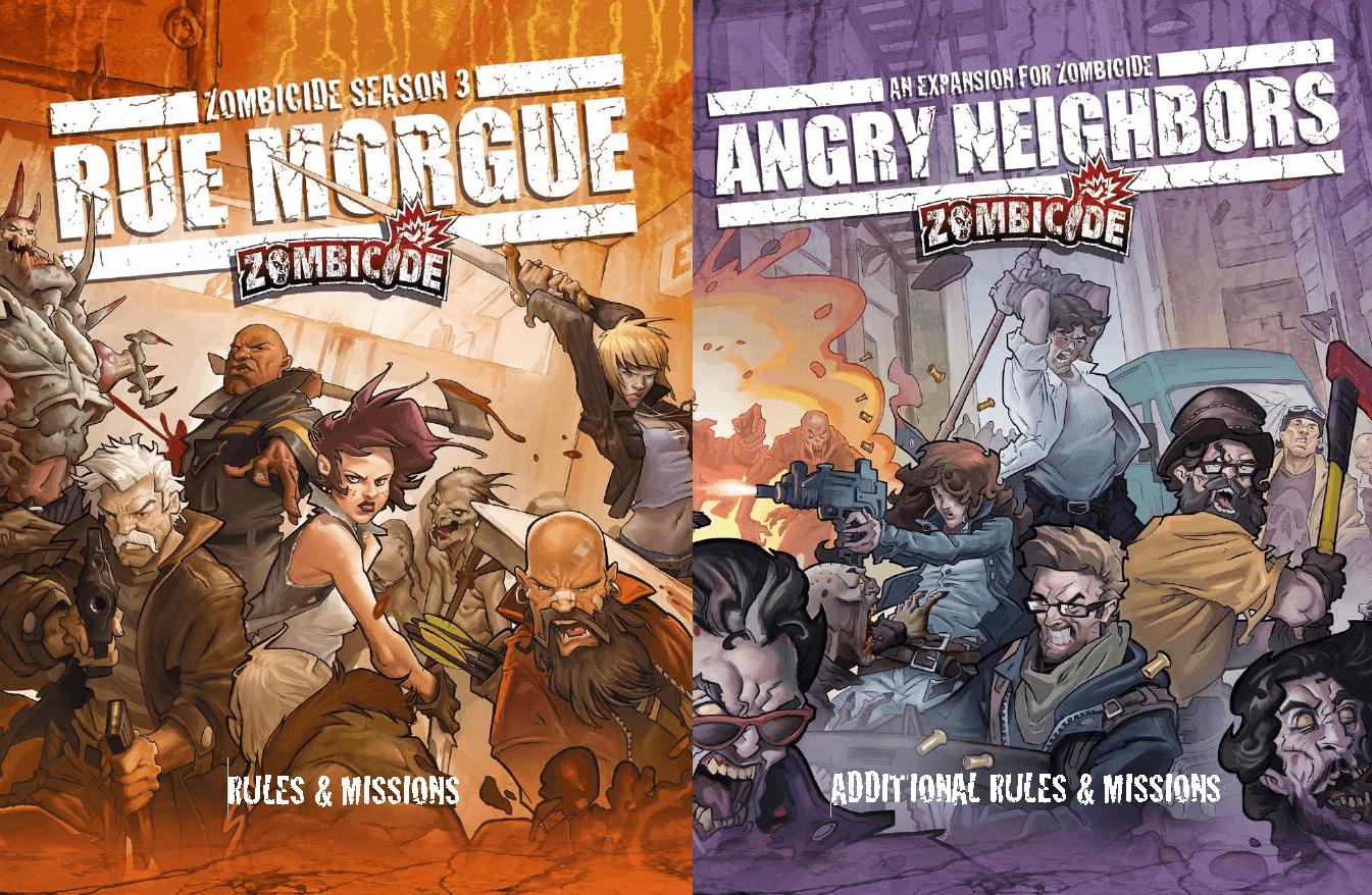 Regelbücher: Rue Morgue + Angry Neighbours