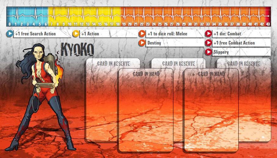 Kyoko als Überlebende