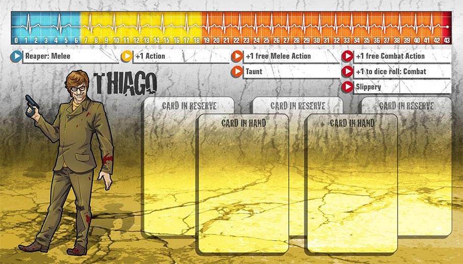 Thiago als Überlebender