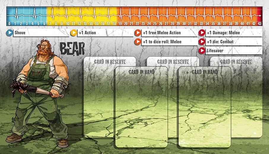 Bear als Überlebender