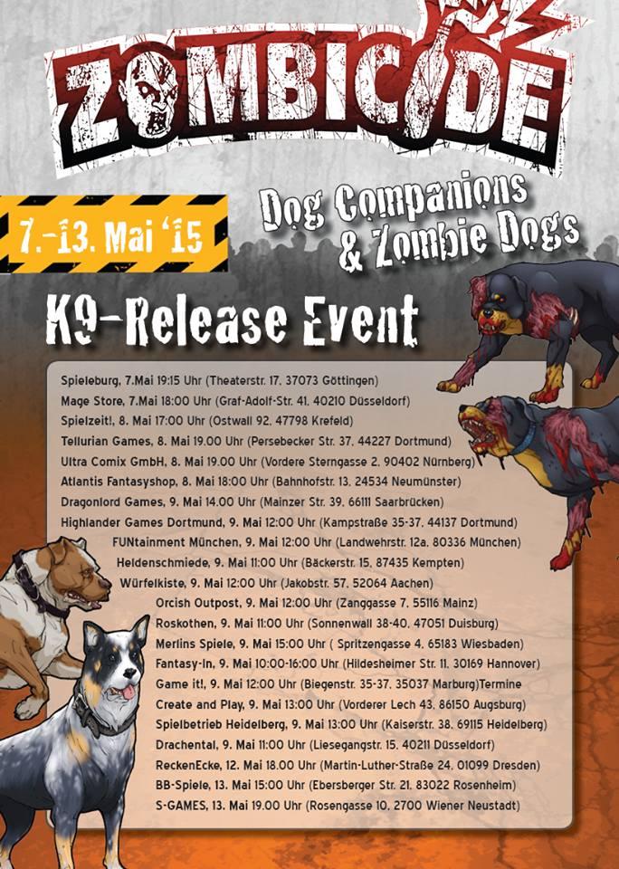 zombicide event dog companions