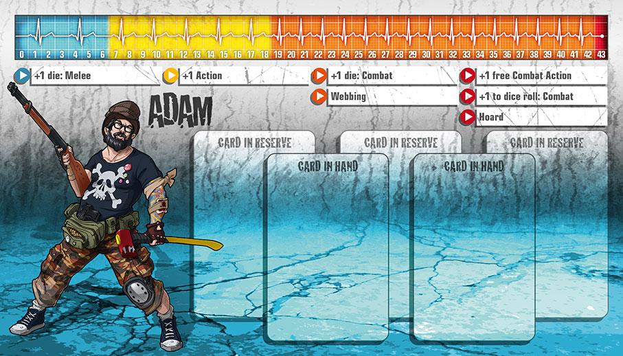 Adam als Überlebender