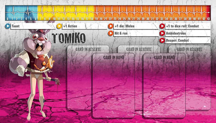 Tomiko als Überlebende