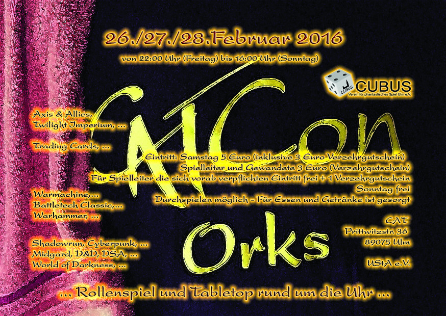 Cat Con 26.-28.02.2016 in Ulm