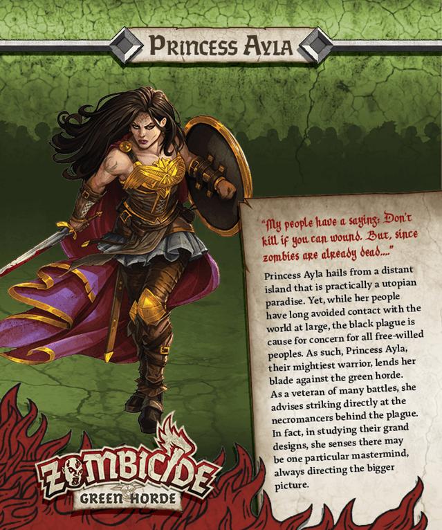 Princess Ayla = Wonder Woman