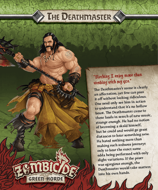 Deathmaster = Lemmy Kilmister