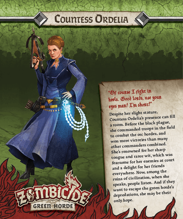 Countess Ordelia = Princess Leia von Star Wars