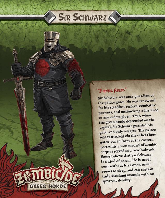 Sir Schwarz = Der Schwarze Ritter aus Die Ritter der Kokosnuß
