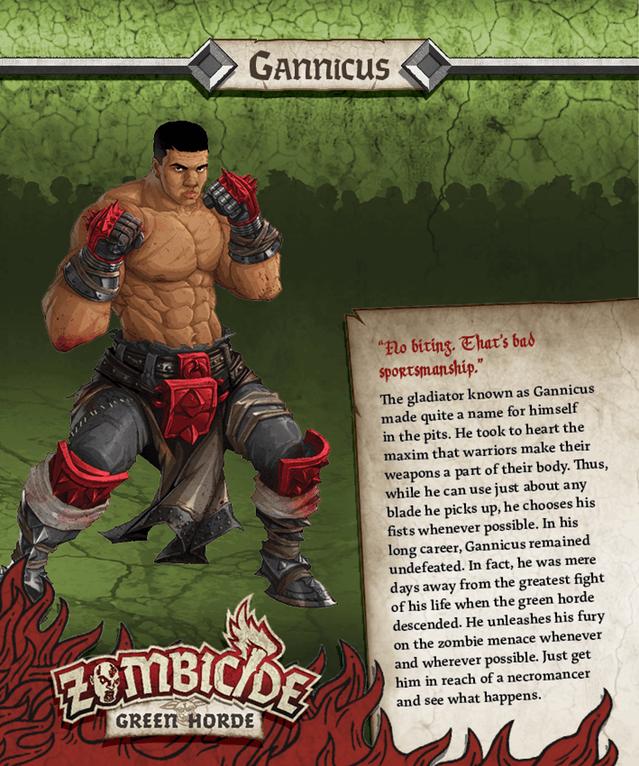 Gannicus = Muhammad Ali