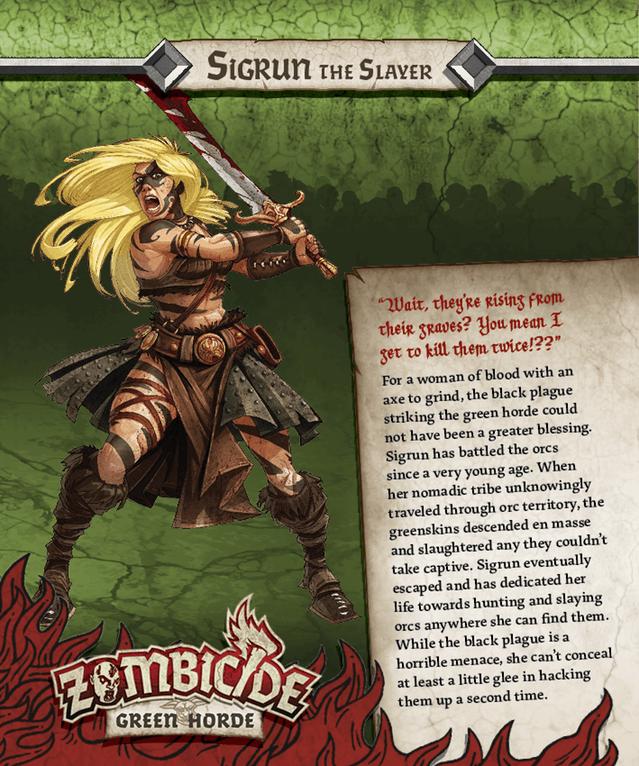 Sigrun = Valeria aus Conan der Barbar