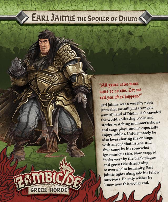Earl Jaimie = Thulsa Doom aus Conan der Barbar
