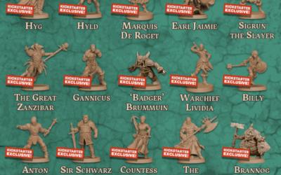 Kickstarter Exklusive Helden, wer sind sie?