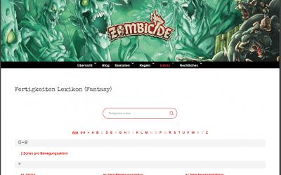 Fertigkeiten Lexikon / Fantasy